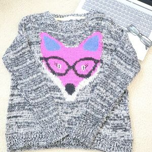 Sweaters - Fox Graphic Sweater